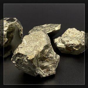Pyritstufen aus Peru