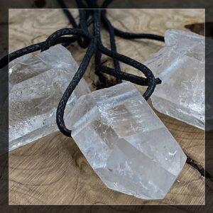 Kristalle gebohrt